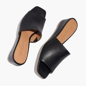 Madewell Shoes - Madewell The Stacey Wedge Mule
